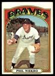 1972 Topps #620  Phil Niekro  Front Thumbnail