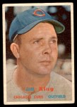 1957 Topps #186  Jim King  Front Thumbnail