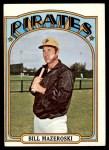 1972 Topps #760  Bill Mazeroski  Front Thumbnail