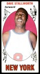 1969 Topps #74  Dave Stallworth  Front Thumbnail