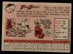 1958 Topps #370  Yogi Berra  Back Thumbnail