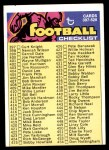 1973 Topps #498   Checklist 397-528 Front Thumbnail