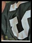 1968 Topps #186  Billy Kilmer  Back Thumbnail