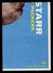 1968 Topps #155  Craig Morton  Back Thumbnail