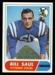 1968 Topps #33  Bill Saul  Front Thumbnail