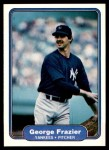 1982 Fleer #35  George Frazier  Front Thumbnail