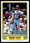 1982 Fleer #147  Randy Lerch  Front Thumbnail