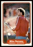 1982 Fleer #125  Mike Ramsey  Front Thumbnail