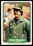 1982 Fleer #99  Steve McCatty  Front Thumbnail