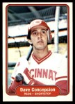 1982 Fleer #63  Dave Concepcion  Front Thumbnail