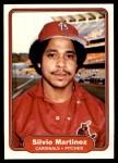 1982 Fleer #122  Silvio Martinez  Front Thumbnail