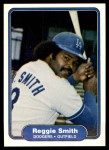 1982 Fleer #23  Reggie Smith  Front Thumbnail