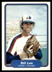 1982 Fleer #194  Bill Lee  Front Thumbnail