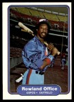 1982 Fleer #198  Rowland Office  Front Thumbnail