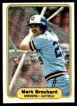 1982 Fleer #135  Mark Brouhard  Front Thumbnail