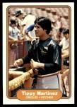 1982 Fleer #171  Tippy Martinez  Front Thumbnail