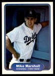 1982 Fleer #13  Mike Marshall  Front Thumbnail