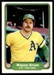 1982 Fleer #90  Wayne Gross  Front Thumbnail