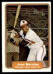 1982 Fleer #173  Jose Morales  Front Thumbnail