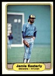 1982 Fleer #139  Jamie Easterly  Front Thumbnail