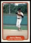 1982 Fleer #304  Jerry Remy  Front Thumbnail