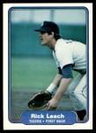 1982 Fleer #272  Rick Leach  Front Thumbnail