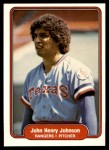 1982 Fleer #321  John Henry Johnson  Front Thumbnail