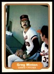 1982 Fleer #396  Greg Minton  Front Thumbnail