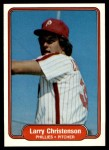 1982 Fleer #244  Larry Christenson  Front Thumbnail