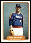 1982 Fleer #219  Bob Knepper  Front Thumbnail