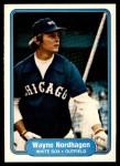 1982 Fleer #355  Wayne Nordhagen  Front Thumbnail