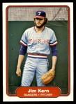 1982 Fleer #322  Jim Kern  Front Thumbnail