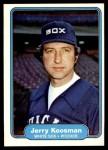 1982 Fleer #347  Jerry Koosman  Front Thumbnail