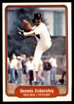 1982 Fleer #292  Dennis Eckersley  Front Thumbnail