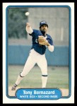 1982 Fleer #338  Tony Bernazard  Front Thumbnail