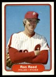1982 Fleer #255  Ron Reed  Front Thumbnail