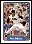 1982 Fleer #378  Dan Spillner  Front Thumbnail