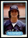 1982 Fleer #337  Ross Baumgarten  Front Thumbnail