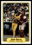 1982 Fleer #476  Dale Berra  Front Thumbnail