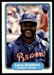 1982 Fleer #431  Larry Bradford  Front Thumbnail
