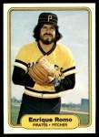 1982 Fleer #496  Enrique Romo  Front Thumbnail