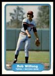 1982 Fleer #563  Rob Wilfong  Front Thumbnail