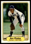 1982 Fleer #420  Ken Phelps  Front Thumbnail
