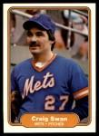 1982 Fleer #538  Craig Swan  Front Thumbnail