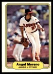 1982 Fleer #469  Angel Moreno  Front Thumbnail