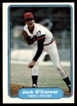 1982 Fleer #557  Jack O'Connor  Front Thumbnail