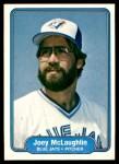 1982 Fleer #620  Joey McLaughlin  Front Thumbnail