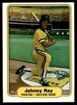 1982 Fleer #492  Johnny Ray  Front Thumbnail