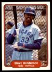 1982 Fleer #597  Steve Henderson  Front Thumbnail