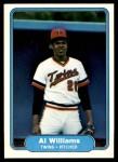 1982 Fleer #564  Al Williams  Front Thumbnail